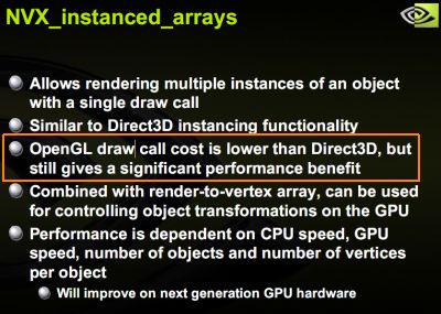 OpenGL faster than Direct3D