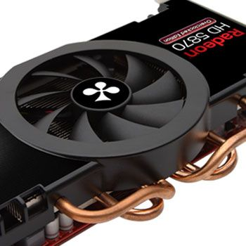 Club 3D Radeon HD 5870 Overclocked Edtion - VGA cooler details