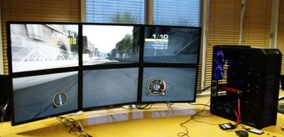 ATI Eyefinity with 6 monitors