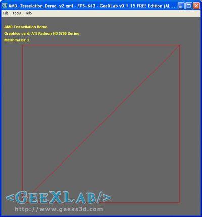 AMD Tessellation Demo OpenGL - GeeXLab