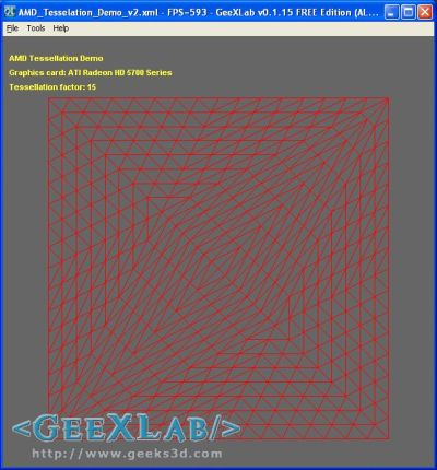 AMD Tessellation Demo OpenGL - GeeXLab
