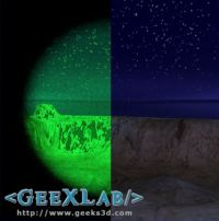 GeeXLab - Night Vision filter