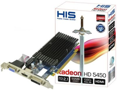 HIS Radeon HD 5450