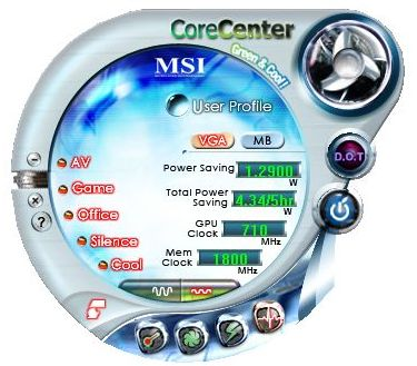 MSI DualCoreCenter