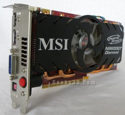 MSI N9600GT Diamond
