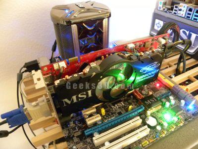 MSI N9600GT Diamond - Geeks3D testbed