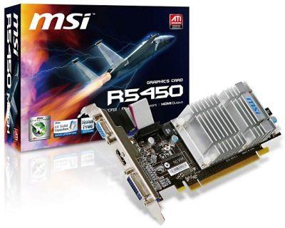 MSI R5450