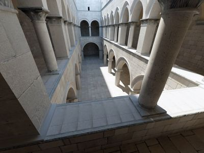 Atrium Sponza Palace Model  - global illumination