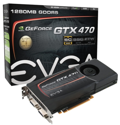 EVGA GeForce GTX 470 Superclocked