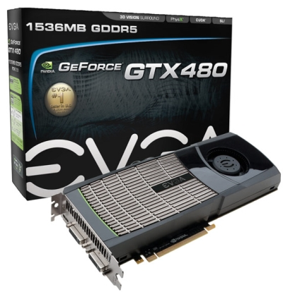 EVGA GeForce GTX 480