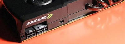 GeForce GTX 480 PCI-Express power supply connectors