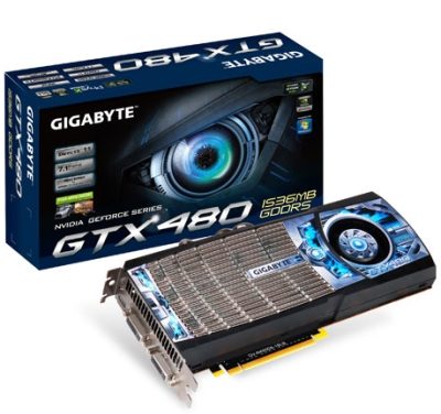 GIGABYTE GeForce GTX 480