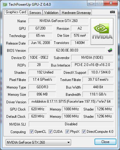 GPU-Z 0.4.0