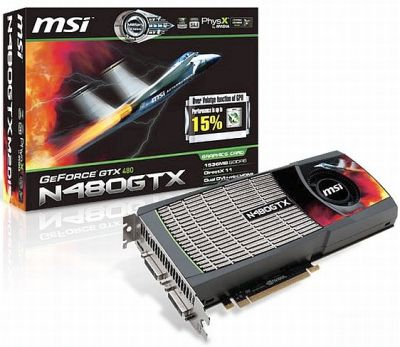 MSI N480GTX