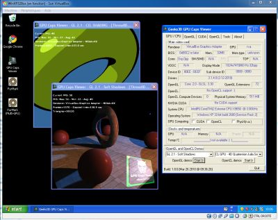 VirtualBox 3.1.6 and GPU Caps Viewer