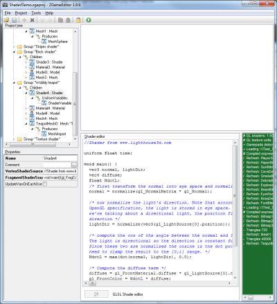 ZGameEditor - GLSL shader edition