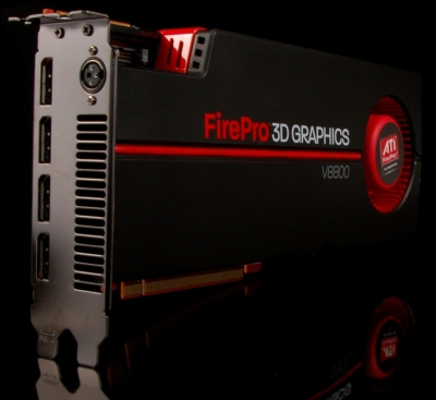 ATI FirePro V8800 Worksation Graphics Card