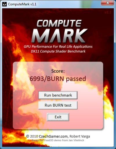 ComputeMark - DX11 DirectCompute Benchmark