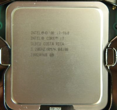 CPU: Intel Core i7 960 @ 3.2 GHz