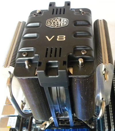 CPU cooler: Cooler Master V8