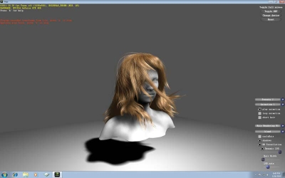 DX11 tessellation - hair demo