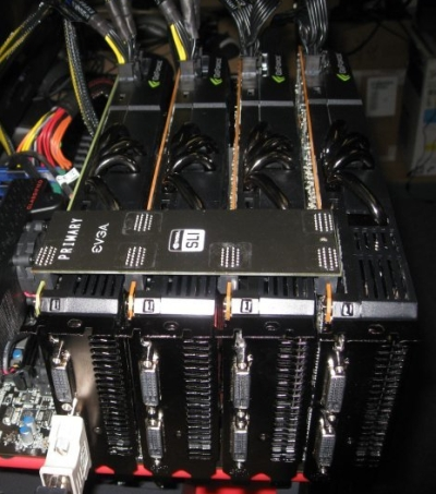 GeForce GTX 480 and 4-way SLI