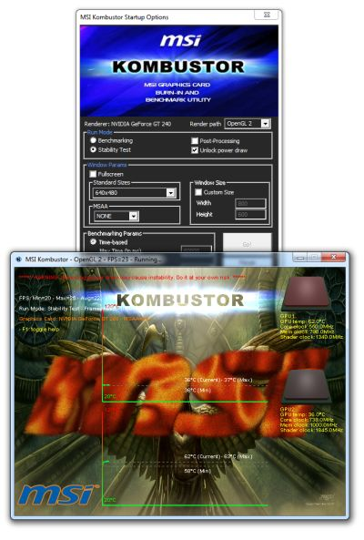 Tool] MSI Kombustor 1 0 6 and Afterburner 1 6 0 Beta 4 | Geeks3D