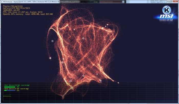 MSI Kombustor - Plasma demo