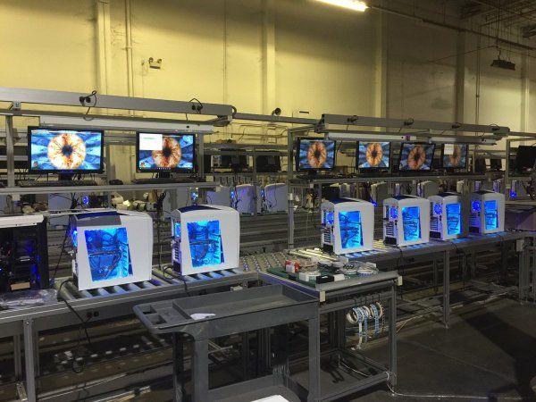 FurMark stressing iBuyPower Phantom PCs