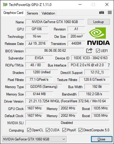 GPU-Z 1.11.0
