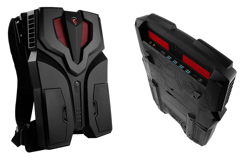 MSI VR One - a gaming PC in a backpack