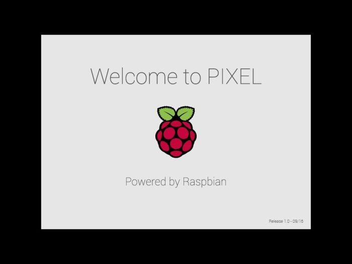Raspbian PIXEL desktop environment