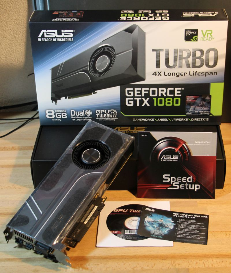 ASUS GeForce GTX 1080 TURBO Review | Geeks3D