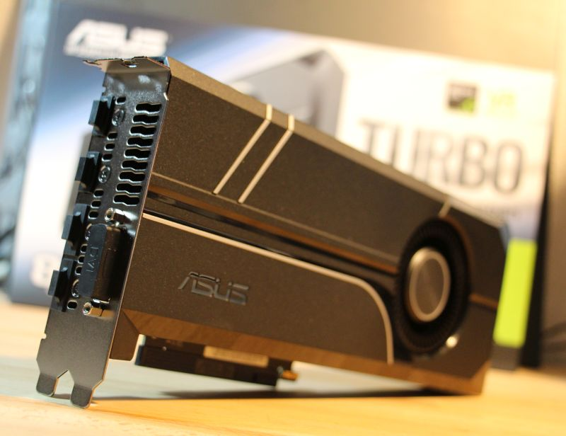 ASUS GeForce GTX 1080 Turbo Review
