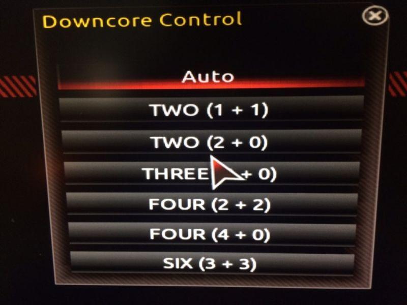 AMD Ryzen Downcore Control