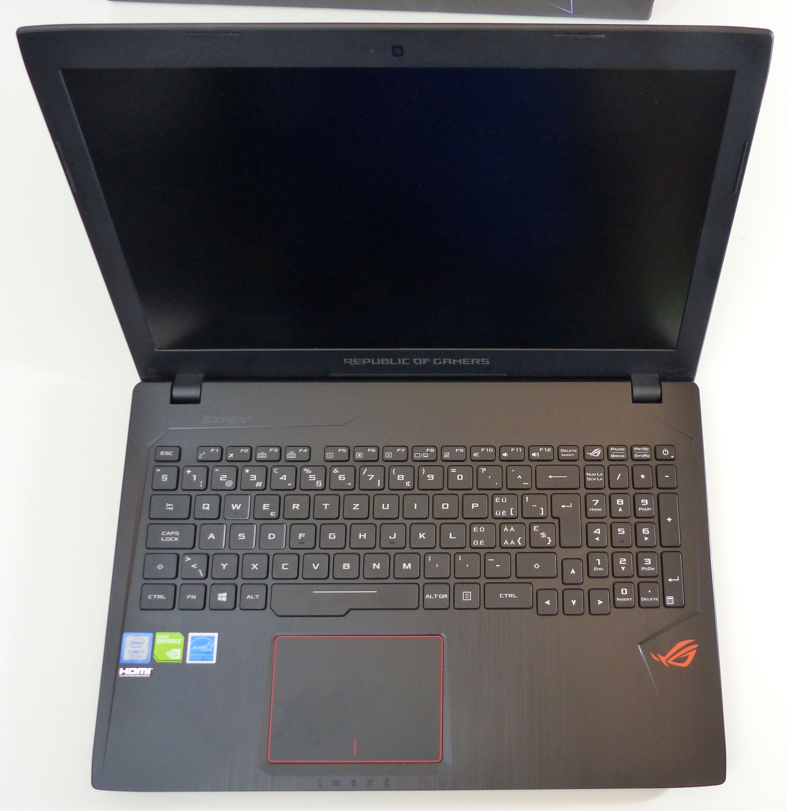 asus rog strix glvd gaming notebook review core i hq asus rog strix gl553vd gaming notebook