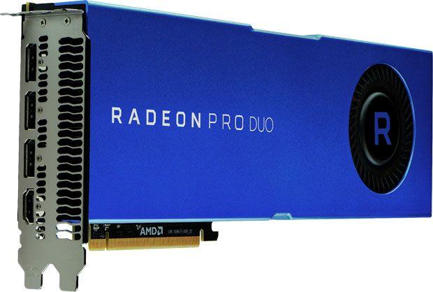 AMD Radeon Pro Duo - Polaris 20