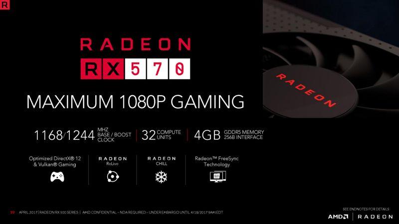 AMD Radeon RX 500 series
