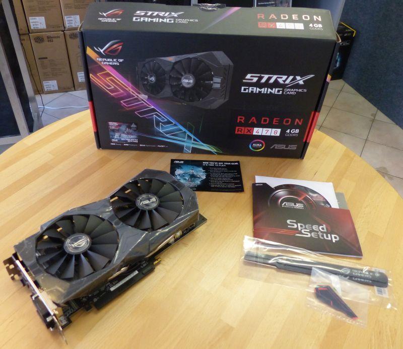 ASUS Radeon RX 470 Strix 4GB