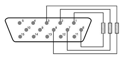 Dummy VGA electronic schema