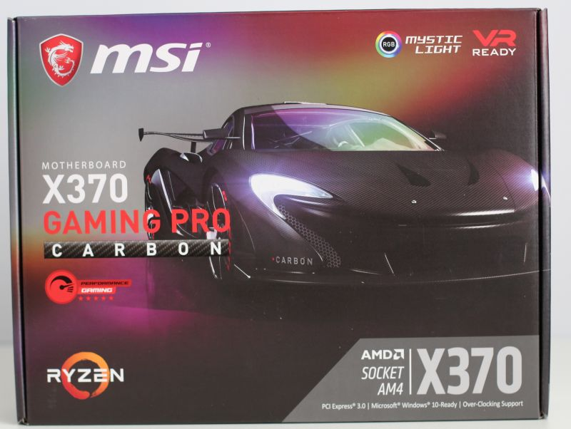 MSI X370 Gaming Pro Carbon Motherboard