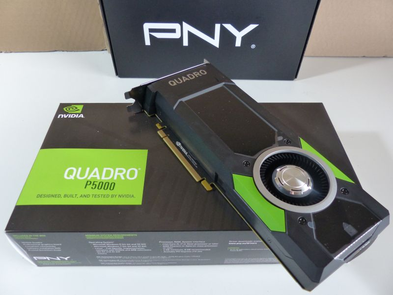 NVIDIA Quadro P5000 vs GeForce GTX 1080