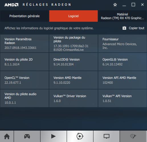 AMD Crimson 17.9.2 software information