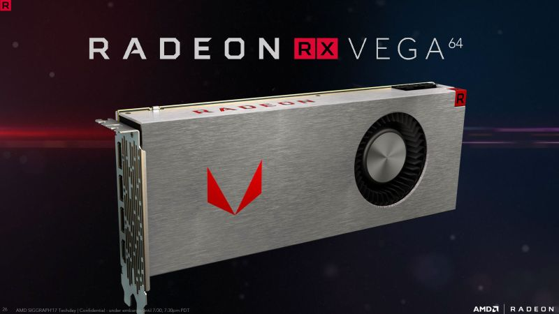 Radeon RX Vega 64 graphics card