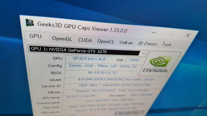 GPU Caps Viewer 1.35.x.x