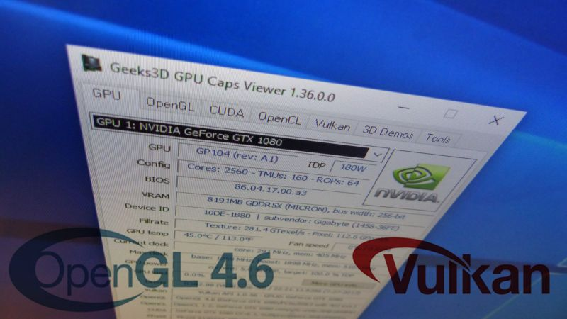 GPU Caps Viewer 1.35.x.x