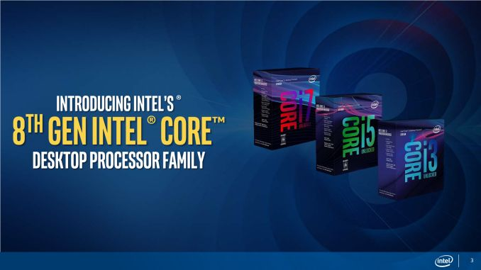 Intel 8th Generation Core Processor Coffee Lake