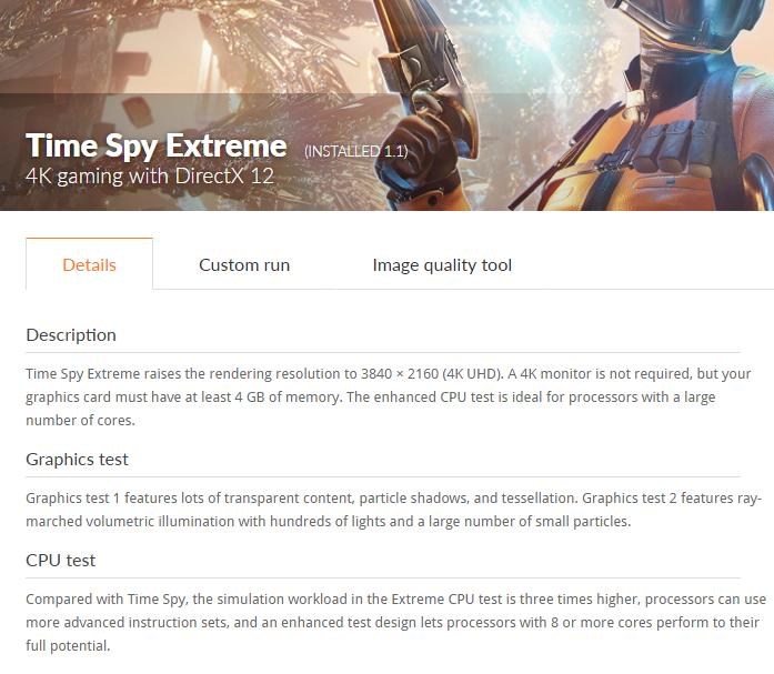 3DMark Time Spy Extreme 4K