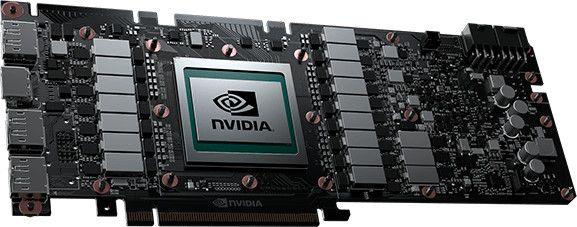NVIDIA TITAN V board