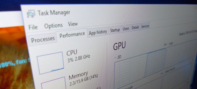 Windows 10 Fall Creators Update: GPU Monitoring in Task Manager